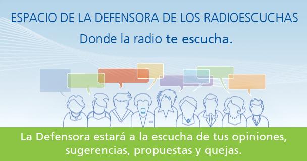 Espacio de la Defensora del Radioescucha