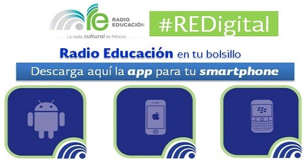 Radio Educación en tu teléfono móvil