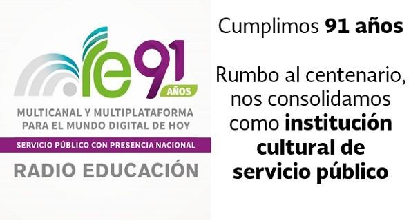 Apuesta Radio Educación por Plataformas Digitales rumbo a su Primer Centenario