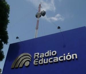 Fachada Radio Educación